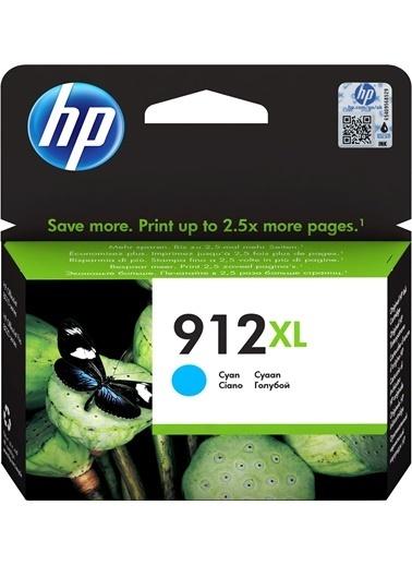 HP HP 3YL81AE (912XL) YUKSEK KAPASITE CYAN MUREKKEP KARTUS Renkli